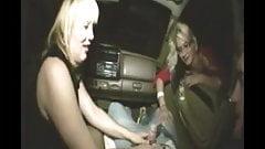 Handjob In The Car