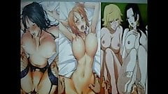 One Piece 8 girls multi SoP (Cum tribute)