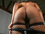 Big tits ebony gets her pussy pounded by a big black cock