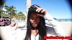 Ft Lauderdale Florida Alissa Avni aka Alissa Jayde gets taug