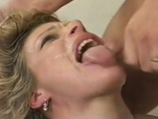 Alexandra gets her throat fucked and gets oral creampies DTD