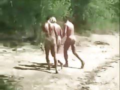Summer Sun Threesome Fun