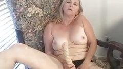 Granny Loves her Dildo