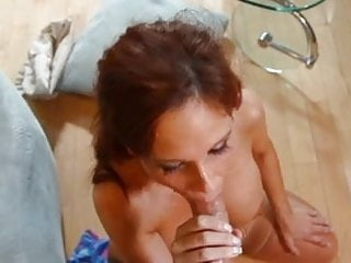 Amazing Syren De Mer gets POV facial cumshot