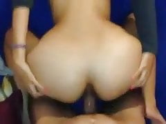heart-shaped desi indian ass gets fucked