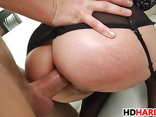 Hard Anal For Blonde Milf Briana Banks