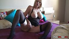 Incredible amateur babe loves to tease on camera