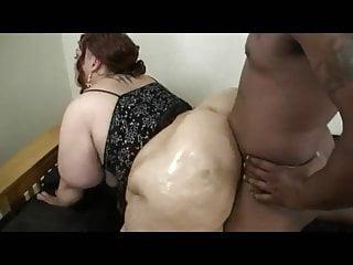 Black BBW Throwing That Ass Back