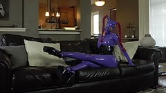 Rubberdoll Latex Lara fully encased's Thumb