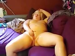 BBW German Blonde Gets a Rough Fist