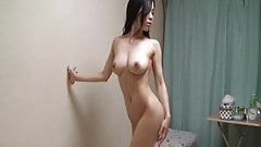Japanese girls room to peep for 24h. Her naked.