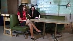 Rachel sexy hogtied