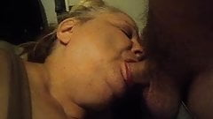 having fun and hubby joined in