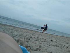 my tiny dick on the nude beach