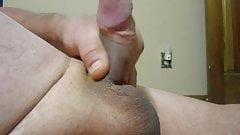 65yrold Grandpa &65 nocum foreskin cock close uncut wank old