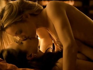 Zoie Palmer And Anna Silk Nude Lesbo Scene In Lost Girl
