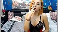 Shemale smoking