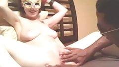 Freaky Interracial Webcam Couple