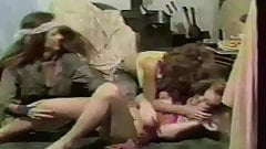 Vintage LBJ Hippie girls Homosexual Femdom