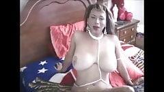 Big Tit Latina In A Bikini Jerking Off