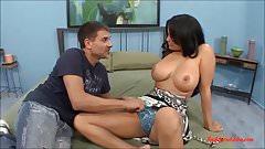 big fat milf with big tits cheating back on her boyfriend fu