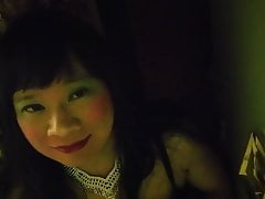 Black Satin Dress 2