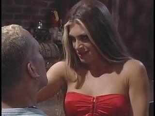 Big tits hottie banged by a big hard cock