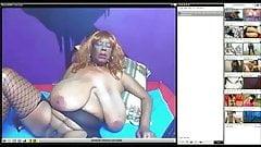 huge boobs ebony on webcam