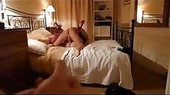 barbara no motel  sendo arregacada!