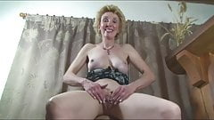 Mature Busty Blonde Milf Pantyhose Play