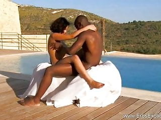 Outdoor Ebony Love Affair