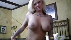Let me show you how to eat your own cum CEI