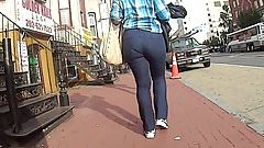 Bubble Ass On Milf Walking In Chinatown DC