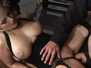 Charming babes engages in a mind-blowing group sex