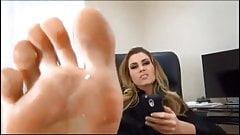Worship your secretary feet
