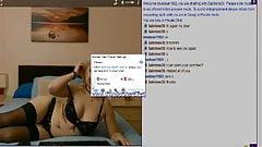 Me cumming for a Blonde webcam model