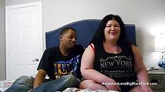 Blacks cocks pounding BBW pussy