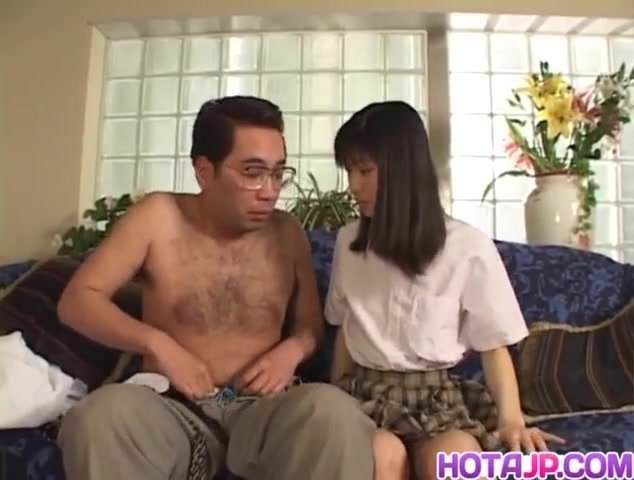 Sweet babe anna kuramoto moans as she gets 3