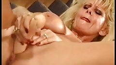 Old Mama Ridding Her Pussy With Big Toy