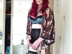 Jess T-Girl Cum