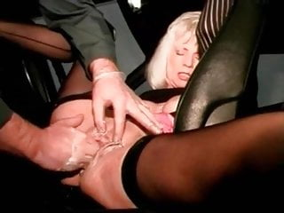 I am pierced mature slut with pussy piercings fisted