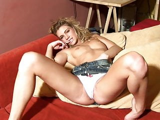 Leggy blonde loves spending time with her favourite fuck toy