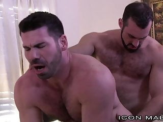Big Sexy Horny Hairy Daddy Swaps Boyfriend After The Bar