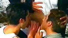 Gay forester fucks two young boys