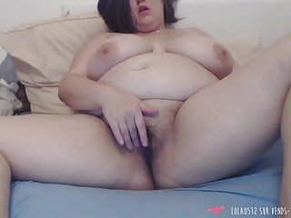 BBW fingering herself - French Amateur