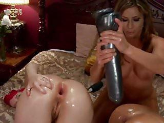 Lesbians Anal Destruction With Big Dildos by FetishGreg88