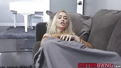 Small tited blonde Anastasia Knight banged in doggystyle