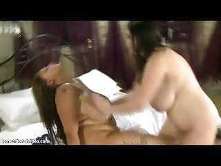 Busty British Babes Terri Jane and Michele Monaghan Lick Big