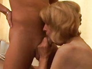 Slender Granny Gets her Hairy Pussy Boned by snahbrandy
