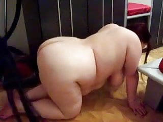 Sub bbw whipped and anal